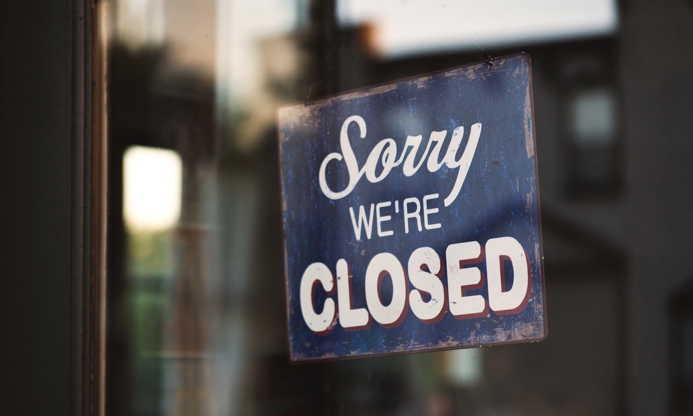 Business closed during covid-19